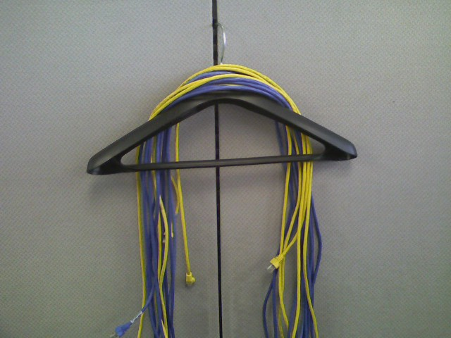 Network Cable hanger